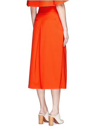 Back View - Click To Enlarge - Tibi - 'Agathe' inverted pleat culottes