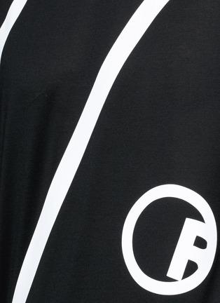 Detail View - Click To Enlarge - Lanvin - 'L' macro logo print T-shirt
