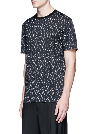 Front View - Click To Enlarge - Lanvin - Footstep print T-shirt
