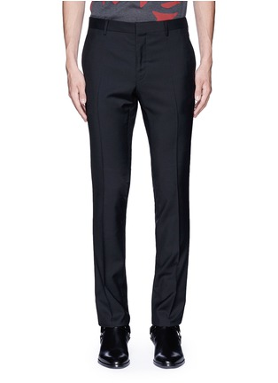 Main View - Click To Enlarge - Lanvin - Slim fit ribbon stripe wool pants