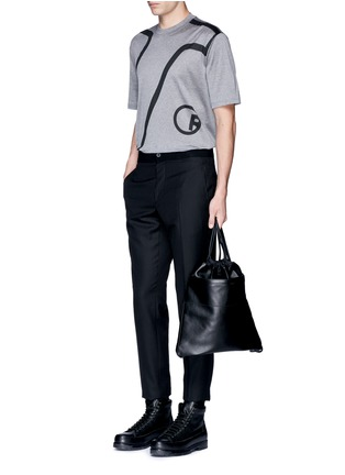 Figure View - Click To Enlarge - Lanvin - 'L' macro logo print T-shirt