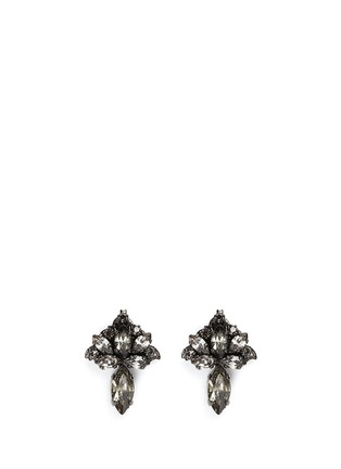Main View - Click To Enlarge - Erickson Beamon - 'Young and Innocent' Swarovski crystal drop earrings