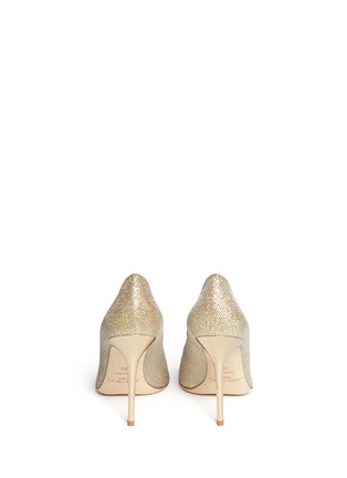 Back View - Click To Enlarge - JIMMY CHOO - 'Abel' lamé glitter pumps