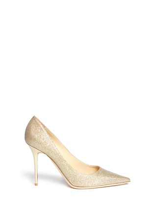Main View - Click To Enlarge - JIMMY CHOO - 'Abel' lamé glitter pumps