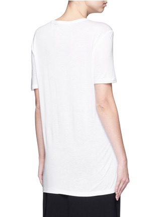 Back View - Click To Enlarge - T By Alexander Wang - Chest pocket T-shirt