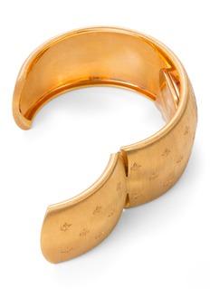 Buccellati Watches 'Cleopatra Losanghe Bizantine' diamond 18k rose gold cuff watch