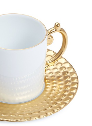 Detail View - Click To Enlarge - L'OBJET - Aegean espresso cup set –Gold