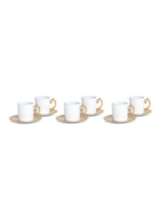 - L'OBJET - Aegean espresso cup set –Gold