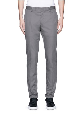 Main View - Click To Enlarge - Lanvin - Slim fit ribbon stripe chinos
