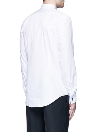 Back View - Click To Enlarge - Lanvin - Wingtip collar tuxedo shirt