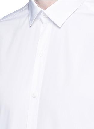 Detail View - Click To Enlarge - Lanvin - 'Evolutive' slim fit cotton shirt