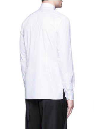 Back View - Click To Enlarge - Lanvin - 'Evolutive' slim fit cotton shirt