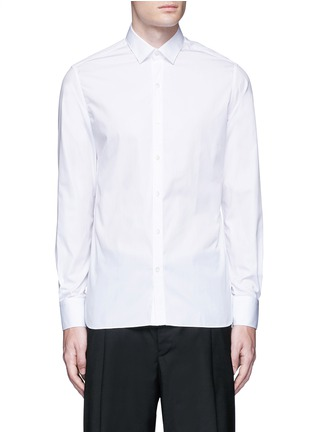 Main View - Click To Enlarge - Lanvin - 'Evolutive' slim fit cotton shirt