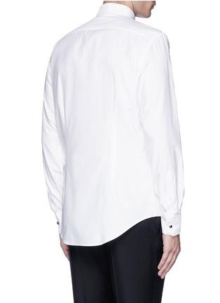 Back View - Click To Enlarge - Lanvin - Metal button tuxedo shirt