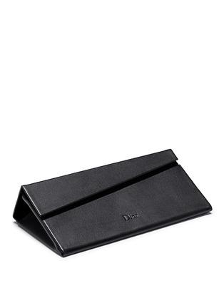 Detail View - Click To Enlarge - DIOR - 'Dior Split' inset metal aviator mirror sunglasses