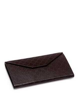 - Gucci - Logo temple pearlescent acetate oversize square sunglasses
