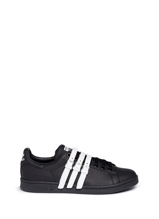 Main View - Click To Enlarge - Adidas - x Raf Simons 'Stan Smith' triple strap leather sneakers
