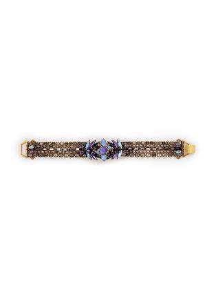 Main View - Click To Enlarge - ERICKSON BEAMON - 'Lady of the Lake' Swarovski crystal bracelet