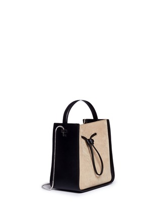 Front View - Click To Enlarge - 3.1 Phillip Lim - 'Soleil' small colourblock leather drawstring bucket bag