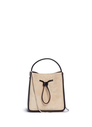Main View - Click To Enlarge - 3.1 Phillip Lim - 'Soleil' small colourblock leather drawstring bucket bag