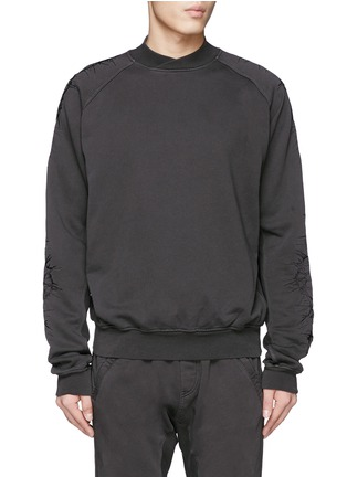 Main View - Click To Enlarge - Haider Ackermann - Thorn embroidery sleeve sweatshirt