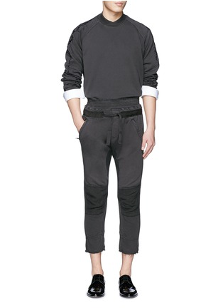 Figure View - Click To Enlarge - Haider Ackermann - Thorn embroidery sleeve sweatshirt