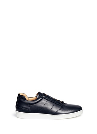 Main View - Click To Enlarge - Want Les Essentiels Shoes - 'Lennon' leather sneakers