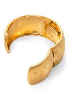 Buccellati Watches 18k yellow gold Cleopatra Losanghe Bizantine edW0801287 cuffwatch BUCCELLATI