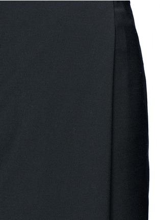 Detail View - Click To Enlarge - Ellery - 'Fastrada' pleat virgin wool blend skirt