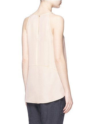 Back View - Click To Enlarge - Theory - 'Kalstinn' A-line sleeveless silk top