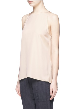 Front View - Click To Enlarge - Theory - 'Kalstinn' A-line sleeveless silk top