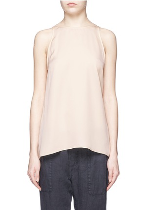 Main View - Click To Enlarge - Theory - 'Kalstinn' A-line sleeveless silk top