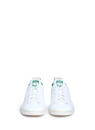 Front View - Click To Enlarge - Adidas - 'Stan Smith Primeknit' sneakers