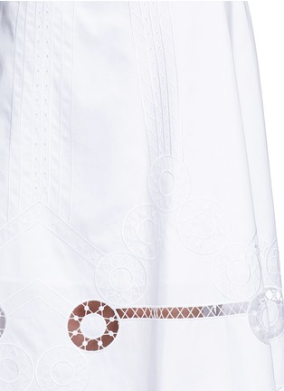 Detail View - Click To Enlarge - Temperley London - 'Midi Bellanca' folk embroidery skirt