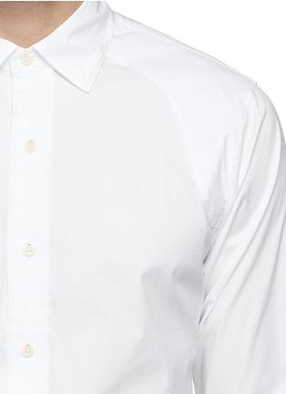 Detail View - Click To Enlarge - DENHAM - 'Pin' raglan sleeve poplin shirt