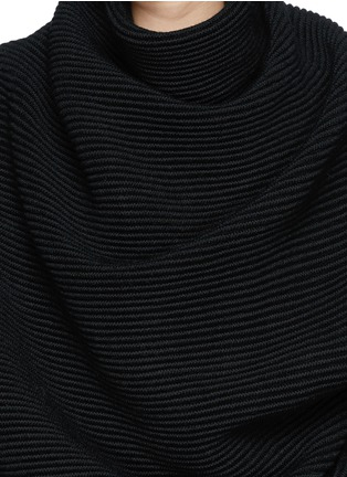 Detail View - Click To Enlarge - Acne Studios - 'Galactic' oversize chunky knit turtleneck sweater