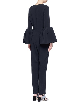 Back View - Click To Enlarge - Roksanda - 'Margot' lantern sleeve jumpsuit