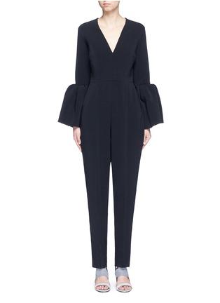 Main View - Click To Enlarge - Roksanda - 'Margot' lantern sleeve jumpsuit