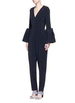 Figure View - Click To Enlarge - Roksanda - 'Margot' lantern sleeve jumpsuit