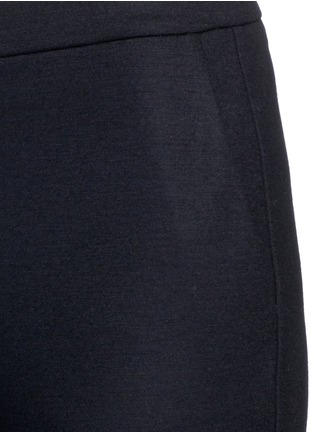 Detail View - Click To Enlarge - Theory - 'Thaniel FLK' virgin wool blend stretch flannel pants