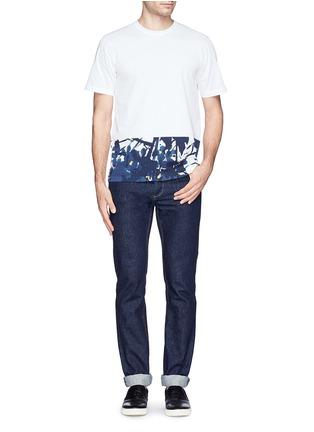 Figure View - Click To Enlarge - Marni - Inksplash floral print T-shirt