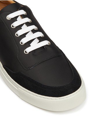 Detail View - Click To Enlarge - Harrys Of London - 'Mr Jones 2' suede trim tech leather sneakers