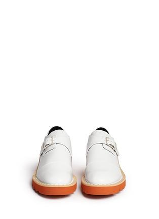 Figure View - Click To Enlarge - Stella McCartney - 'Odette' stud platform monk strap shoes