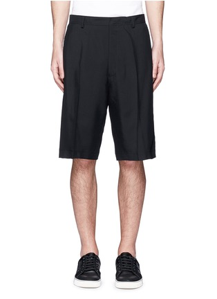 Main View - Click To Enlarge - Lanvin - Technical wool cargo shorts