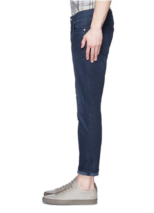 Detail View - Click To Enlarge - Acne Studios - 'Town Twilight' cropped tapered jeans