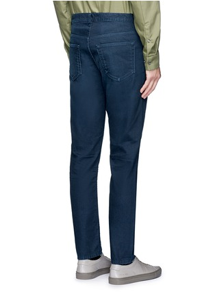 Back View - Click To Enlarge - Acne Studios - 'Town Twilight' cropped tapered jeans