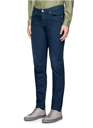 Front View - Click To Enlarge - Acne Studios - 'Town Twilight' cropped tapered jeans