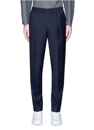 Main View - Click To Enlarge - Acne Studios - 'Ryder' wool-Mohair hopsack pants
