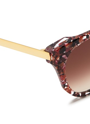 Detail View - Click To Enlarge - Thierry Lasry - 'Softly' pearlescent shell effect acetate sunglasses