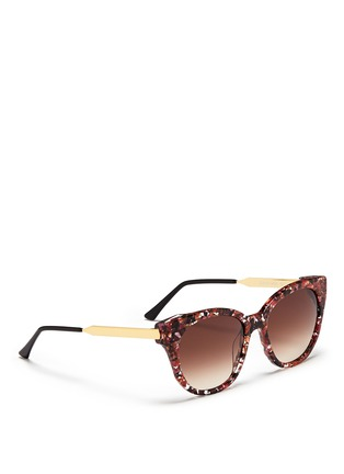 Figure View - Click To Enlarge - Thierry Lasry - 'Softly' pearlescent shell effect acetate sunglasses